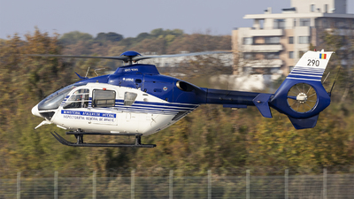 290 - Eurocopter EC 135P2 - Romania - Ministry of Interior