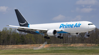 N313AZ - Boeing 767-338(ER)(BDSF) - Amazon Prime Air (Air Transport International)