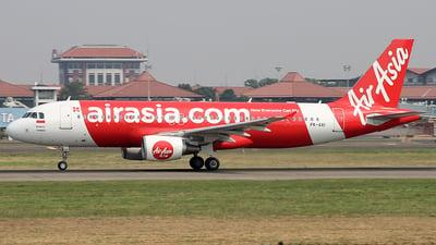 PK-AXI - Airbus A320-216 - Indonesia AirAsia