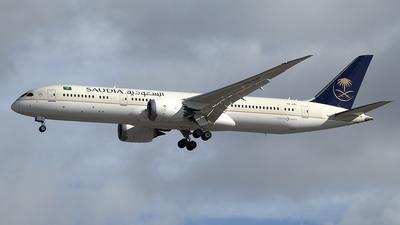 A picture of HZARE - Boeing 7879 Dreamliner - Saudia - © Diego Navarro