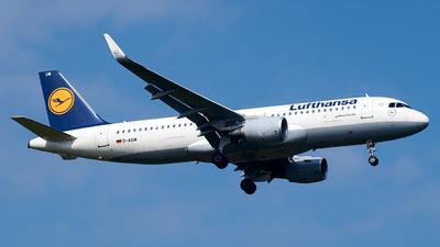 D-AIUW - Airbus A320-214 - Lufthansa