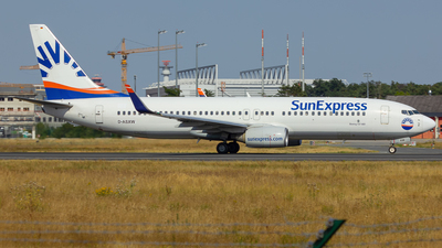 D-ASXW - Boeing 737-8HC - SunExpress Germany