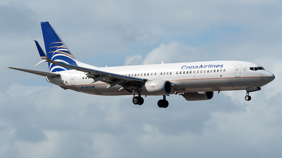 HP-1832CMP - Boeing 737-8V3 - Copa Airlines