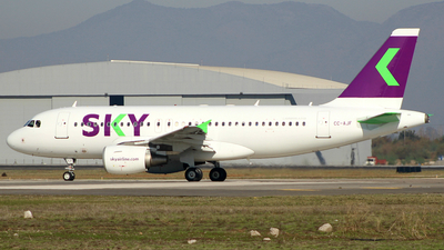 CC-AJF - Airbus A319-111 - Sky Airline