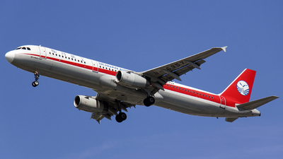 A picture of B6957 - Airbus A321231 - Sichuan Airlines - © Yethty CHEN