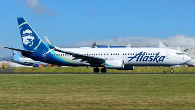 A picture of N592AS - Boeing 737890 - Alaska Airlines - © RAFAEL FERNANDEZ ABARCA