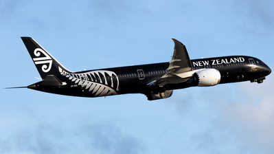 A picture of ZKNZE - Boeing 7879 Dreamliner - Air New Zealand - © Angus Chae - Skies of Pearl