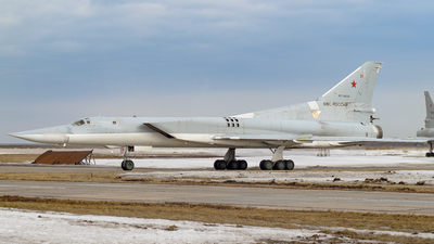 RF-34025 - Tupolev Tu-22M3 Backfire - Russia - Air Force
