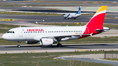 A picture of ECKOY - Airbus A319111 - Iberia - © Mateo León