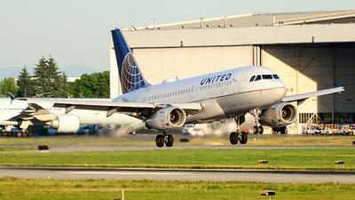 N845UA - Airbus A319-131 - United Airlines