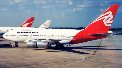 VH-EAB - Boeing 747SP-38 - Australia Asia