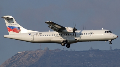 A picture of SXSEV - ATR 72500 - Sky Express - © Stamatis Alipasalis