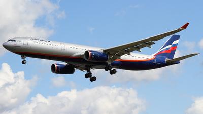 VQ-BCU - Airbus A330-343 - Aeroflot