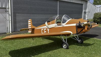 ZK-CFY - Druine DR.31 Turbulent - Private