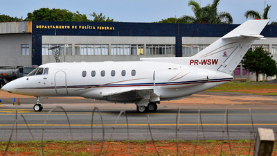 PR-WSW - Raytheon Hawker 800 - Private