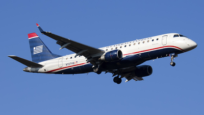 N137HQ - Embraer 170-200LR - US Airways Express (Republic Airlines)