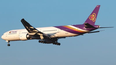 HS-TKV - Boeing 777-3D7ER - Thai Airways International
