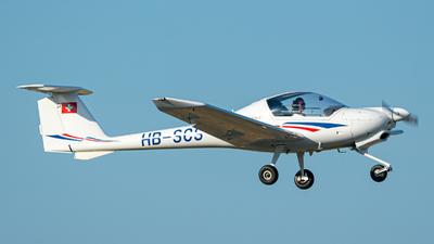HB-SCS - Diamond DV-20 Katana - Fliegerschule Birrfeld
