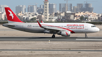A6-ANV - Airbus A320-214 - Air Arabia