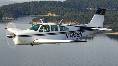 N7459N - Beechcraft E33A Bonanza - Private