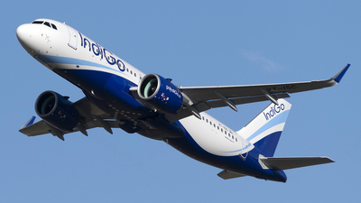 VT-ISC - Airbus A320-271N - IndiGo Airlines