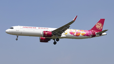 A picture of B30EQ - Airbus A321271NX - Juneyao Air - © Minizyi