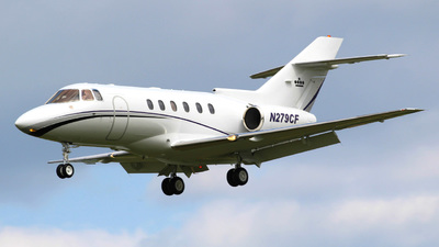 N279CF - Raytheon Hawker 800XP - Private