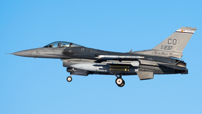 87-0237 - General Dynamics F-16C Fighting Falcon - United States - US Air Force (USAF)