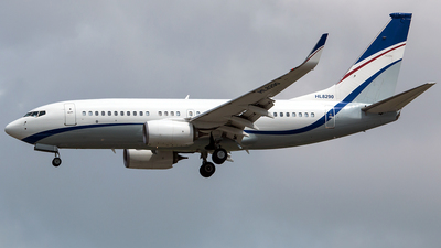 HL8290 - Boeing 737-7GC(BBJ) - Private