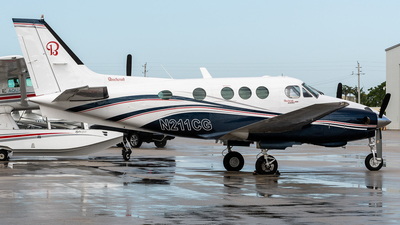 N211CG - Beechcraft E90 King Air - United States - US Forest Service (USFS)