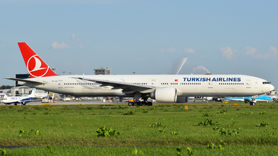 TC-JJH - Boeing 777-3F2ER - Turkish Airlines