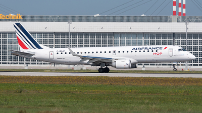 A picture of FHBLM - Embraer E190STD - Air France - © Chr.Schulenberg