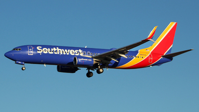 A picture of N8554X - Boeing 7378H4 - Southwest Airlines - © wangruoyao