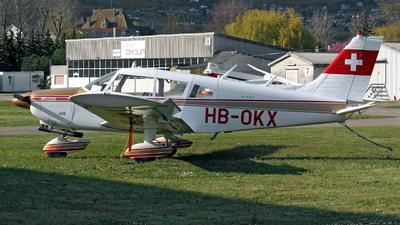 A picture of HBOKX - Piper PA28180 - [287305007] - © Mirko Bleuer