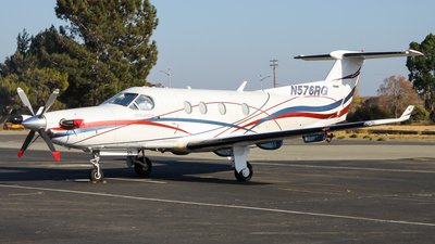 N576RG - Pilatus PC-12/45 - Private