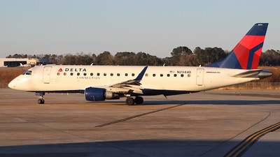 A picture of N234JQ - Embraer E175LR - Delta Air Lines - © CHS Spotting