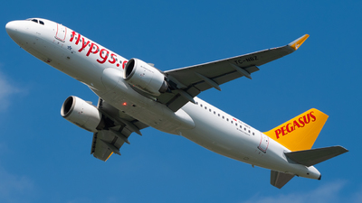 A picture of TCNBZ - Airbus A320251N - Pegasus Airlines - © Wilko Doodhagen