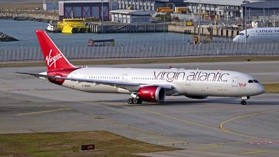 A picture of GVCRU - Boeing 7879 Dreamliner - Virgin Atlantic - © Bowen Chau - The HKADB Spotters Group