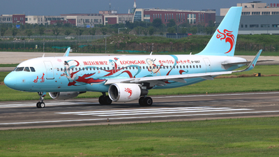 B-1867 - Airbus A320-214 - Loong Air