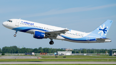 XA-MLR - Airbus A320-214 - Interjet