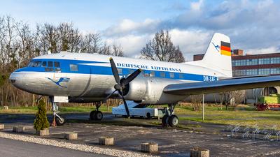 DM-SAF - VEB Flugzeugbau IL-14P - Deutsche Lufthansa