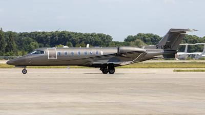 G-USHA - Bombardier Learjet 75 - Private