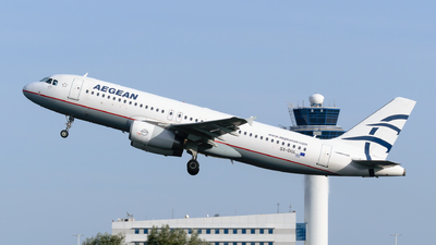 A picture of SXDGL - Airbus A320232 - Aegean Airlines - © George Chaidaris