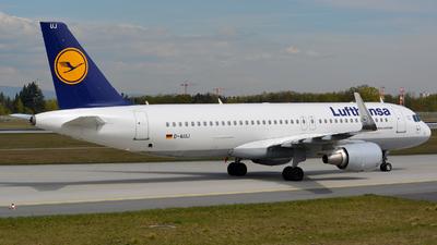 D-AIUJ - Airbus A320-214 - Lufthansa
