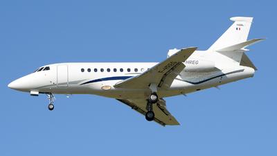 F-HREG - Dassault Falcon 900EX - Airlec Air Espace