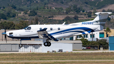 N606BS - Pilatus PC-12/47E - Private