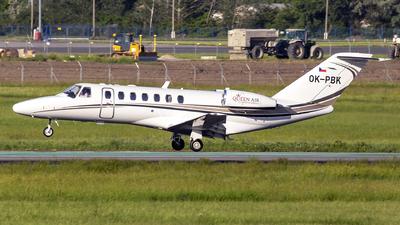 OK-PBK - Cessna 525 Citationjet CJ3 - Queen Air