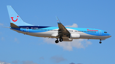 G-FDZS - Boeing 737-8K5 - Thomson Airways