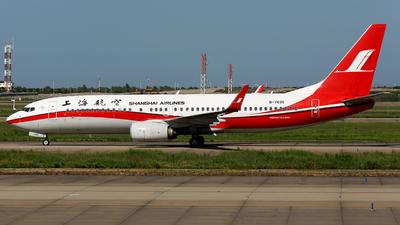 B-7635 - Boeing 737-89P - Shanghai Airlines