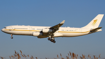 HZ-SKY1 - Airbus A340-212 - Sky Prime aviation services